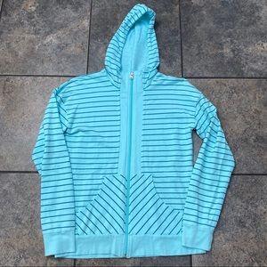 Women's Lucy Striped Hooded Sweatshirt Size Small